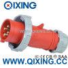 Plugues de potência internacionais vermelhos de Cee/IEC 32A IP67 4p