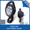 35W lámpara del trabajo del CREE LED con la maneta