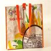 新しいショッピングのためのデザインによって薄板にされるPPによって編まれる袋