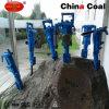 採鉱の空気のツール小型手の空気足の移動式石ドリル