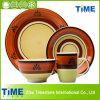 Ensemble à dîner fait main en céramique au micro-céramique (082502)