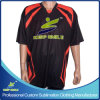 Sports Game Clubs TeamsのためのカスタムSublimation Sporting Bowling Shirts