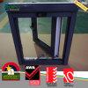 二重ガラスをはめられるUPVCのWindows PVC黒い開き窓のWindowsデザイン