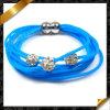 L'argilla di cristallo borda i braccialetti, il braccialetto all'ingrosso del silicone dei monili (FB083)