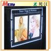 Magnetische LEIDENE Lichte Zak met het Frame van de Foto van het Kristal