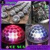 illuminazione magica di cristallo della fase della sfera LED di 6X3w RGB DMX