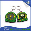 Presentes promocionais Custom 3D Shape PVC Keychain / Rubber Key Chain