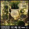 De Flits van de Decoratie van de Vakantie van Kerstmis van het Huishouden van de Lichten van het Koord van batterijkabels van de Draad van het Koper van het metaal