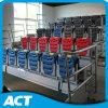 Cubierta telescópica retráctil automático de gimnasia del blanqueador de venta al por mayor