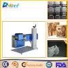 Maquinaria portátil da gravura da máquina da marcação do laser do CO2 com fonte de laser do CO2