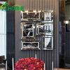 Nuevos espejos de la pared de la llegada para la venta barato para la alameda de compras con las fotos biseladas de la decoración del espejo/de la casa de 4m m