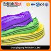 6:1 rond doux sans fin de Sf de bride de polyester de code à couleurs