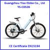 Neue elektrische Dame Sport Bicycle mit Bildschirmanzeige Schalter-LCD