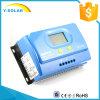 Controlador de MPPT 20AMP 12V/24V Dual-USB-5V/3A/regulador solares Ys-20A