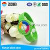 Fabrik-kundenspezifischer Förderung-SilikonWristband