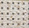 Acciaio inossidabile del mosaico di pietra naturale della parete della costruzione e di tutte le mattonelle della priorità bassa (FYSSD079)