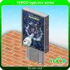 LED 지구 전시를 가진 Mupi 알루미늄 Lightbox 광고