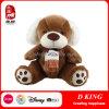 Brinquedo macio enchido do urso da peluche do urso de Brown