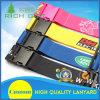 Изготовленный на заказ Nylon планки багажа печатание/пояс и названная бирка с логосом напечатанным экраном
