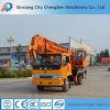 Dongfeng XCMGのための6つの車輪シャーシ鋭い機械が付いている5つのTのトラックによって取付けられるクレーン