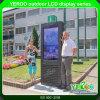 Android торговый центр системы рекламируя напольную индикацию LCD