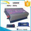 inverseur solaire Ys-1000g-W-D-LCD de relation étroite de réseau d'énergie éolienne de 1000W-LCD AC-115V/230V DC-22V-60V