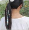 La decoración de moda del pelo del oro tatúa etiquetas engomadas de destello del pelo