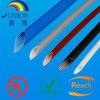 Gainer de protection de fil tressé et de câble de fibre de verre enduite de silicone d'Uzft 2 de classe de H