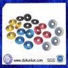 Шайба зенкованная алюминием/анодированная цветом зенкованная алюминием шайба винта шайбы/цвета