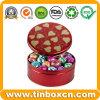 Жестяная коробка шоколада, коробка олова