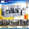 Máquina de rellenar del jugo automático con el puré cuatro en una máquina