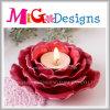 ギフトの結婚式のための陶磁器の花デザイン蝋燭ホールダー