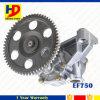 Pompa di olio di Hino del motore diesel Ef750 (15110-1461)