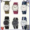 Fábrica ocasional del reloj de las señoras del deporte de la OTAN de la manera Yxl-139 de la correa de los hombres de las mujeres del reloj de la voga de la alta calidad del reloj de nylon de la alineada