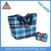 Mão de compra da promoção das senhoras a grande Foldable recicl o saco de portador