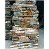 Pierre cultivée de panneau de mur d'ardoise de la colle de quartzite pour la Chambre