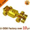 Anunciando a movimentação do USB do metal do carro de competência do ouro F1 dos presentes (YT-1229)