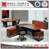 Стол офиса популярного высшего администратора круглого стола MDF деревянный (NS-D016)
