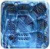 TERMAS luxuosos da inovação dos Whirlpools dos hidro TERMAS