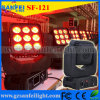 소형 9X10W RGBW 4in1 크리 말 LED Matrix Moving Head Light