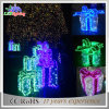 Lumière imperméable à l'eau de chaîne de caractères de boîte-cadeau du jardin extérieur DEL de décoration de vacances