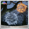 新しいクリスマスの装飾3Dの球のモチーフLEDの照明