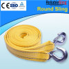 Pesante-dovere colorato Tow Strap/Car Tow Strap di Polyester con Forged Hooks