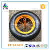 Wheelbarrow Wb6400のための14インチRubber Wheel 3.50-8 Cart Wheel