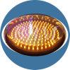 LED 300mmのトラフィックの警告の合図