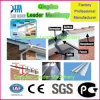 Máquina plástica da produção do perfil do PVC para a indústria de edifício