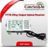 Hoch qualifizierter 2 optischer Empfänger der Methoden-Ausgabe-CATV FTTB