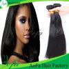 Prolonge indienne de cheveux humains de cheveu de Remy de Vierge droite non transformée