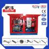 ドリルの高圧管のクリーニング機械