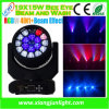 19PCS 15W СИД Beam Moving Light СИД Wash Moving Head для диско, Concert